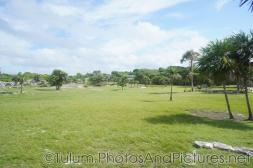 Grassy expanse of the Tulum Ruins.jpg