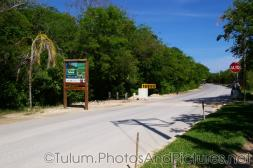 Road into the Tulum Mayan Ruins.jpg
