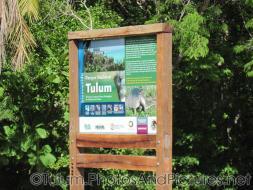 Tulum national park sign.jpg