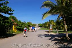 Walking towards the Tulum Mayan Ruins.jpg