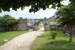 Wall archway to a courtyard at Tulum Ruins.jpg