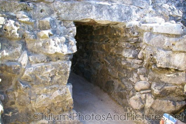 Wall tunnel at the Tulum Mayan Ruins.jpg